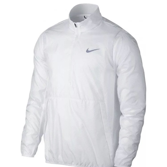 230f92991a1d Nike windbreaker jacket size small white mens golf.  M 5aabd93850687c1662a8ee91